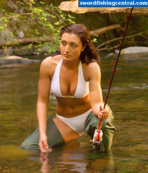 рыбалка секси девочки